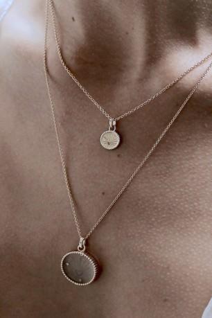 Médaille Coeur Sacré Or Jaune