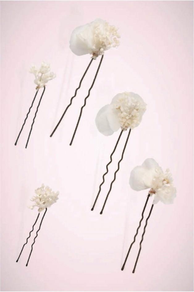 Set of 5 BLANCA hairpins