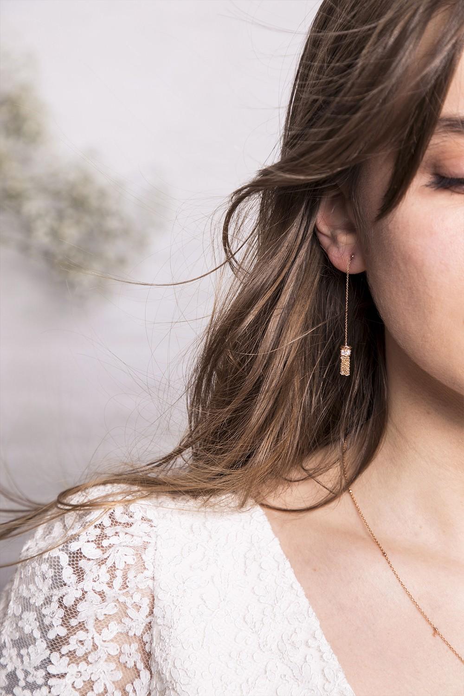 Boucles d'oreilles LA SAGESSE