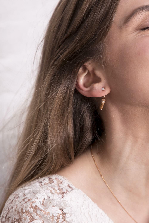 Boucles d'oreilles L' INNOCENCE