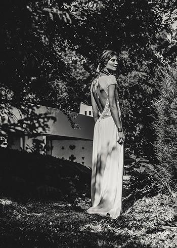 Robe Stiller & couronne Desnos