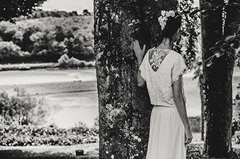 Top Scorsese porté sur la robe Pasolini