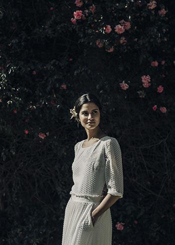 Robe Baudelaire & peigne Mimoki x LdeS