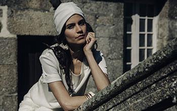 Top Péguy, jupe Flamant & turban Simone