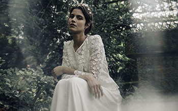Veste Racine, robe Gill & couronne Sidonie Lemaitre