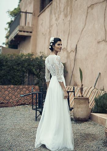 Alésia dress & Soie Labo comb