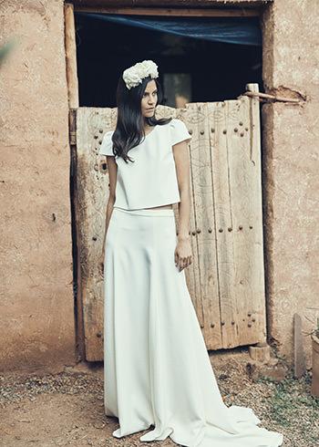 Cassel top, Dormoy skirt & Soie Labo crown
