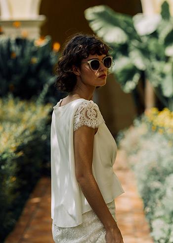 Blusa Macy & falda Anvers