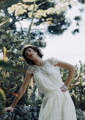 Blusa Chatterton & falda Alberti