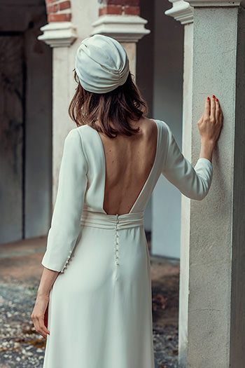 Robe Satie & coiffe Loulou