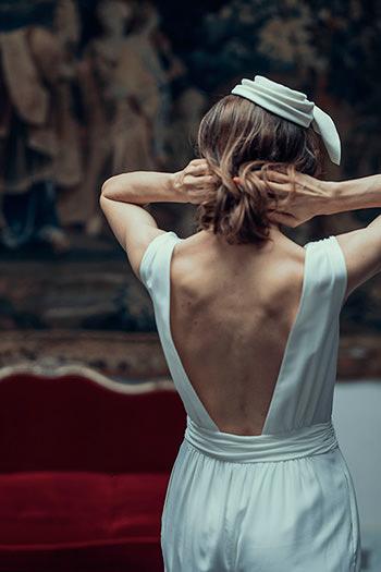 Combinaison Rameau & coiffe Gallienne