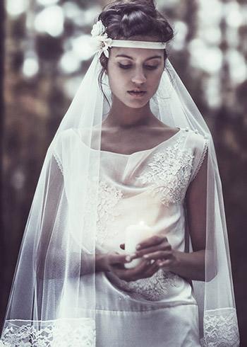 Robe Rossellini ~ Voile Aragon