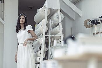 Sorel dress & Lizeron crown