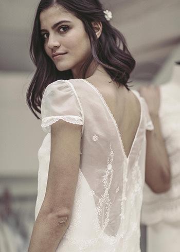 Robe Russell & pic à cheveux Dorothée Flores