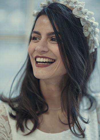 Robe Rieux et couronne Veronica Marucci