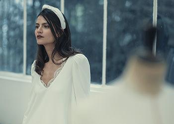Robe Chedid & turban Veronica Marucci
