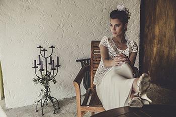 Blusa Moretti & falda Loden