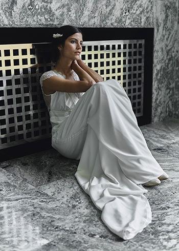 Vestido Astaire & peine Mimoki