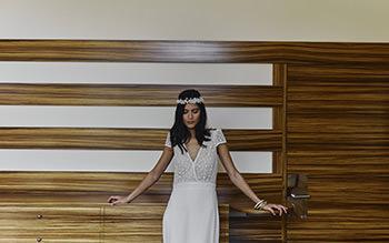 Vestido Foster & corona Mimoki