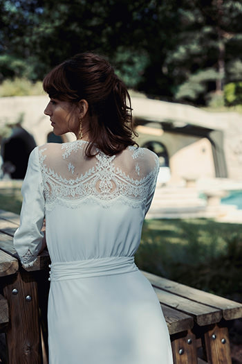 Vestido Chambon & pendientes Jane