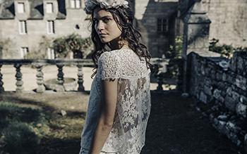 Blusa Valmore & corona Lizeron